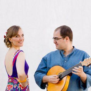 Nina Wirtti e Luis Barcelos