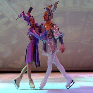 Ballet no gelo