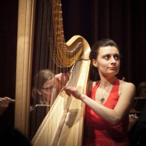 Harpa em destaque